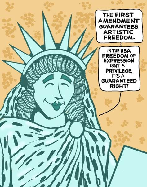 The First Amendment Comic Book Legal Defense Fund
